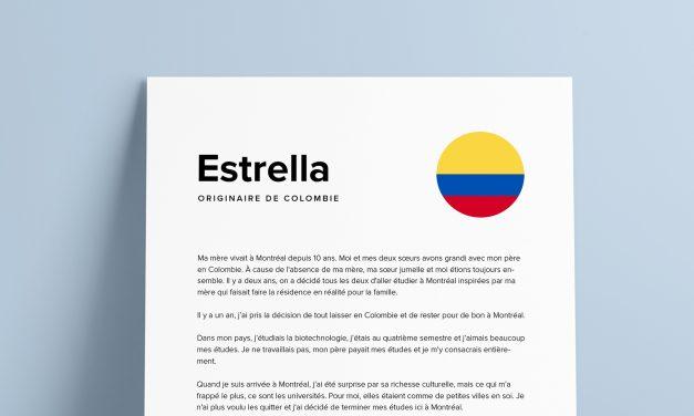 Le parcours d'Estrella