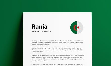 Le parcours de Rania